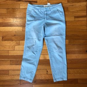 Pants - Blue Chino Pants by Anthropologie